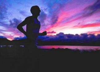 Running or jogging in morning