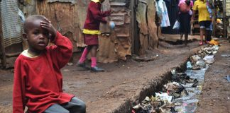 Boy in Kibera Slum, Nairobi