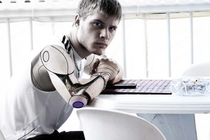 Cyborg-human-like-robot