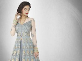 Girl in Anarkali Suit