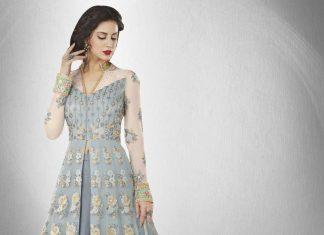 Girl in Anarkali Suit