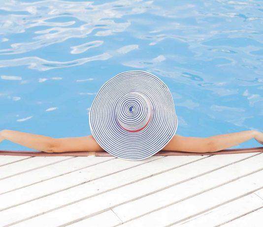 Relaxing In Swimming Pool