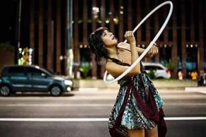 hula-hooping