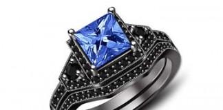 black-gold-blue-diamond