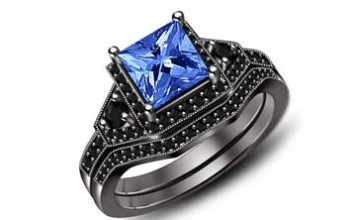black-gold-blue-diamond