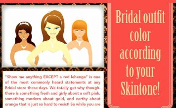 Bridal-outfit-color-according-to-your-Skintone
