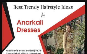Best Trendy Hairstyle Ideas for Anarkali Dresses