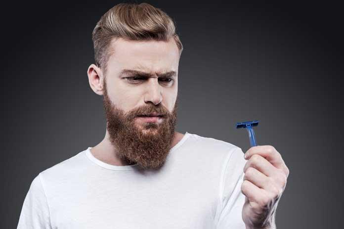 Bearded-man-with-razor