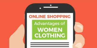 Online Shopping Advantages of Women Clothing