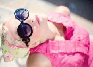 Girl in sunglasses