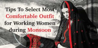 Tips-to-select-Most-Comfortable-outfit-for-working-women-during-Monsoon