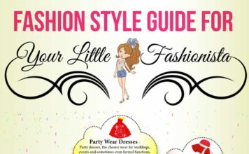 Fashion Style Guide For Your Little Fashionista [Infographic]