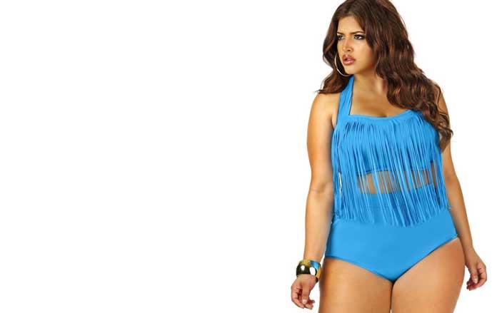 Swimsuit plus size
