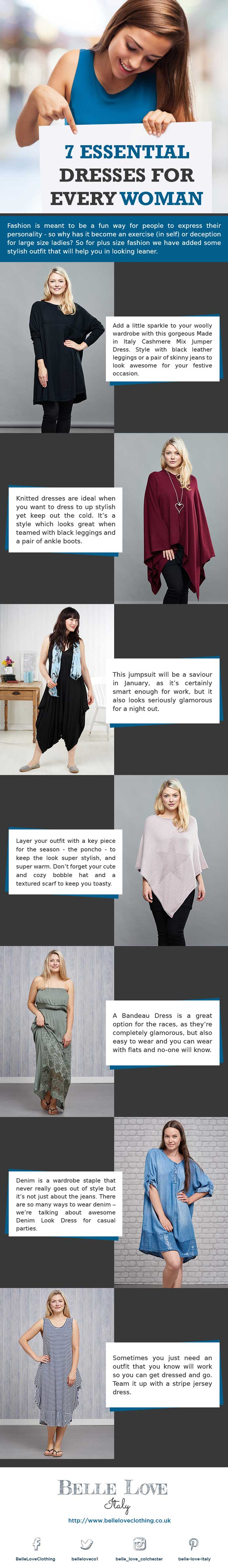 7 Essentials Dresses For Every Women