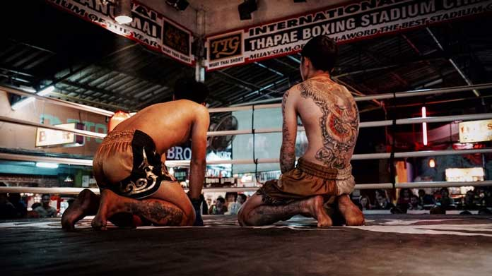action-adult-athletes-battle