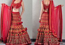Phulkari Bridal Dress