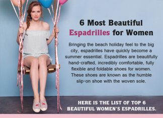 6 Most Beautiful Espadrilles for Women