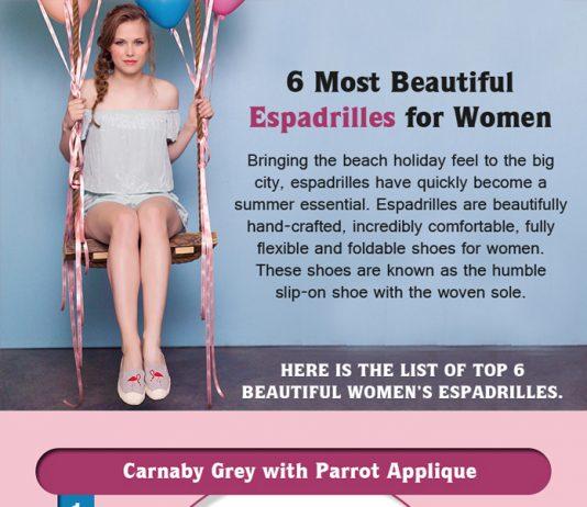 6 Most Beautiful Espadrilles for Women