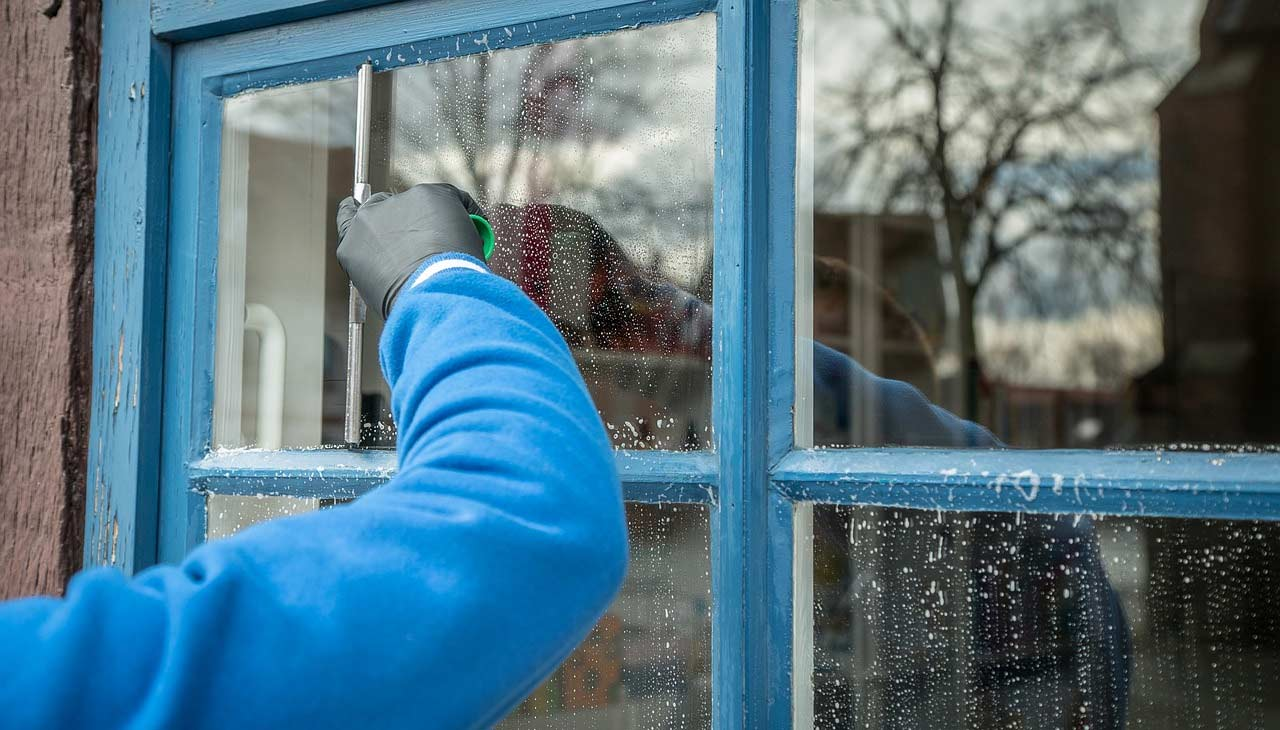 Keep Home Glass Windows Clean