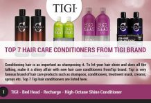 Top 7 Hair Care Conditioners from Tigi Brand