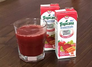 Tropicana Juice - Fruit & Veggies