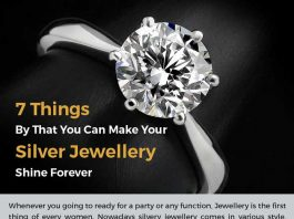 7 Tips to make your silver jewelry shine forever