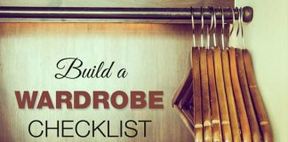 Build a Wardrobe Checklist