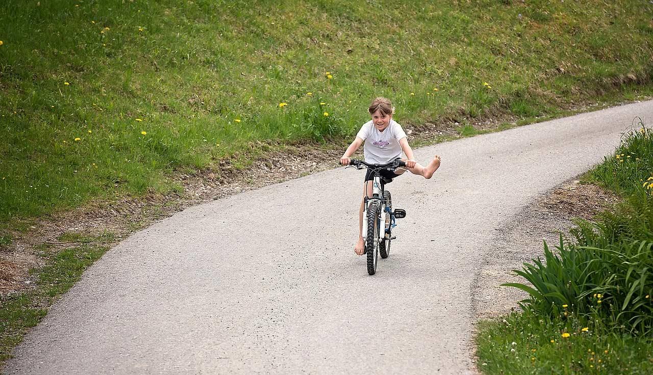 Kid Cycling