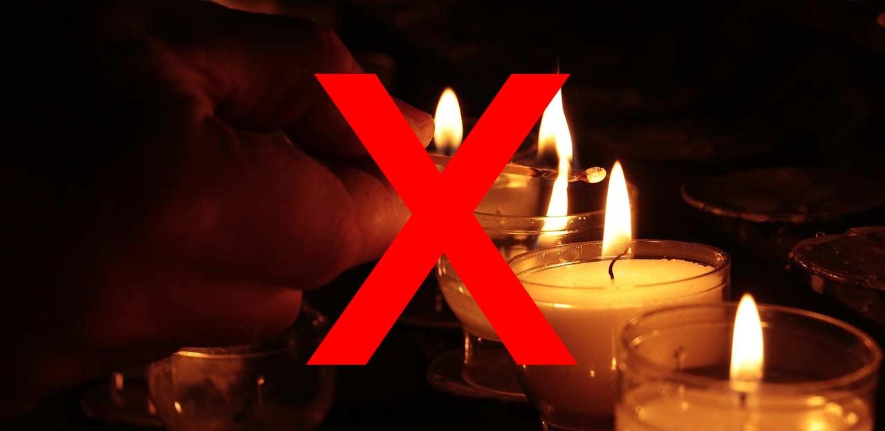 No Candles