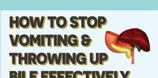 Effective ways to prevent vomiting and throwing up bile effectively