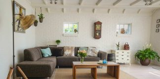 Industrial look home decor