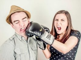 Couple Fighting and argument