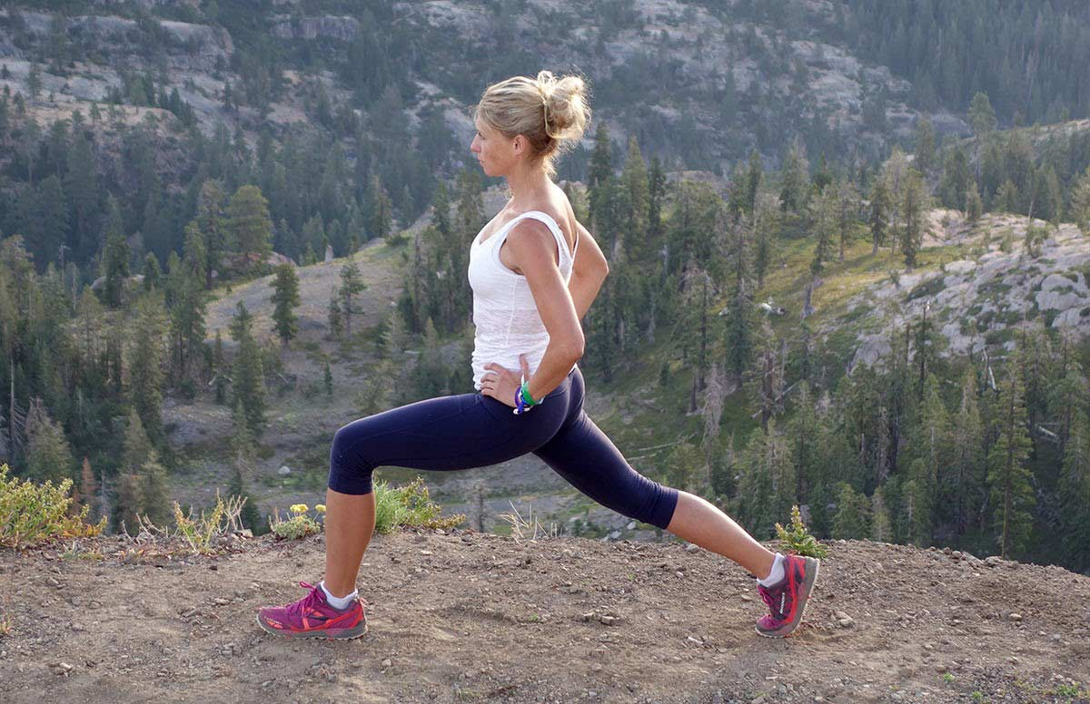 Runner's Lunges