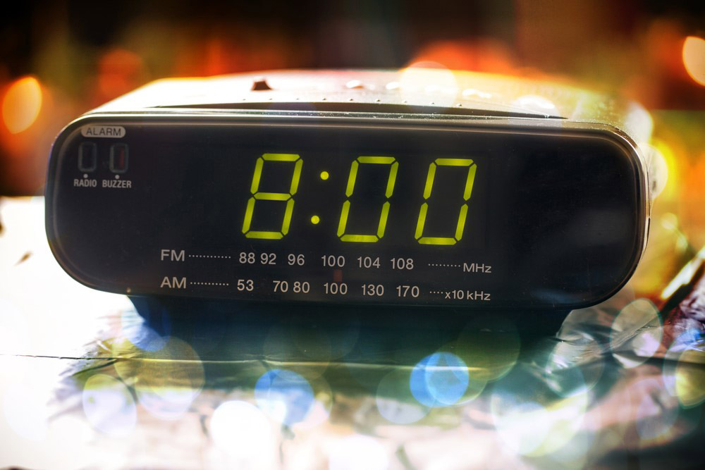 8 o clock