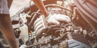 Car engine maintenance