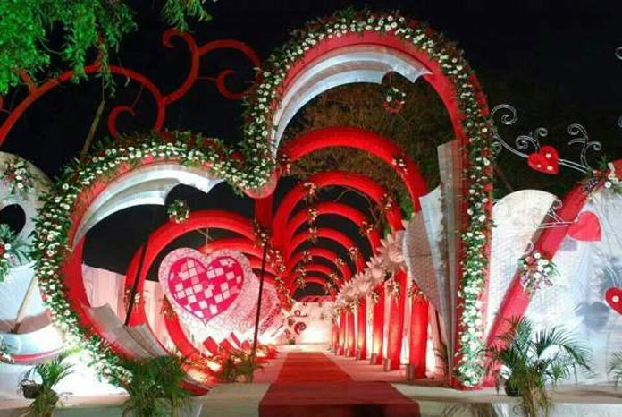 11 Best garden wedding arch decoration ideas 15