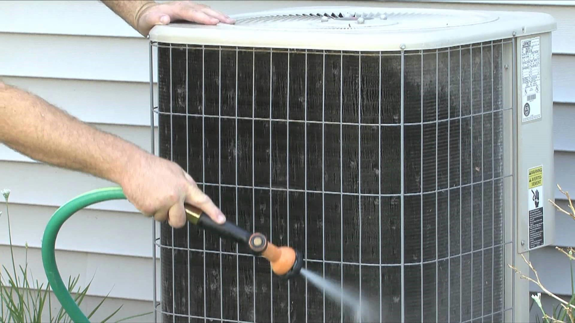 Air conditioner outdoor change
