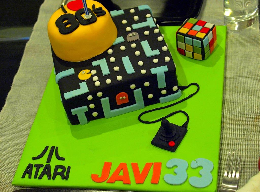 Atari 80s birthday theme