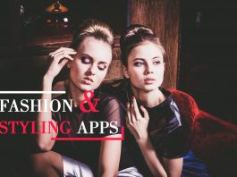 Fashion and styling apps