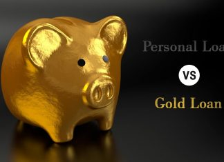 Personal loan vs gold loan