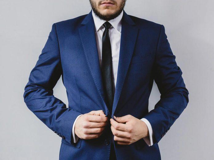 comfortable linen blazer