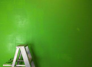Ladder for home maintenance