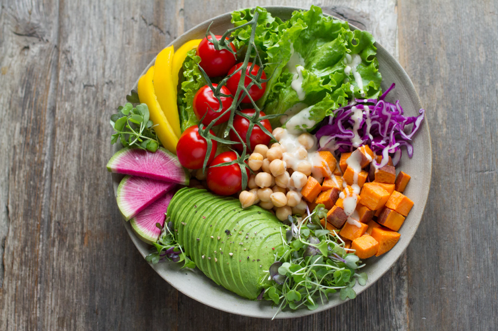 Salad for healthy dieting