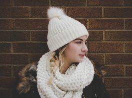 Girl in winter wear