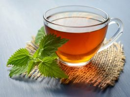 aromatic Green Herbal Tea