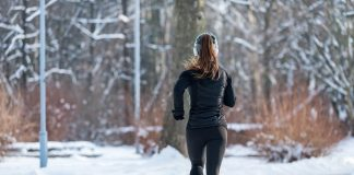workout in winter