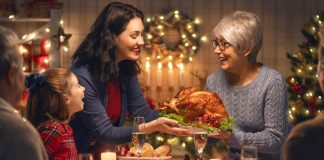 dinner on Christmas