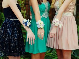 girls going for prom