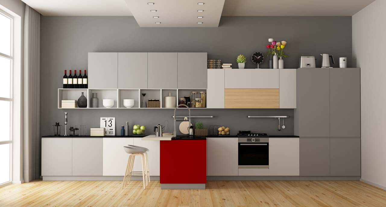 Different Kitchen Cabinet Door Types And Styles Infographic