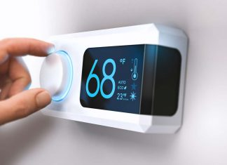 thermostat home energy saving